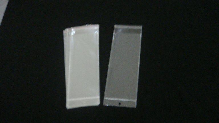Saquinho plástico adesivado 10x25 com furo pacote com 1000 unidades