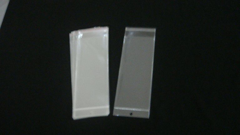 Saquinho plástico adesivado 10x25 com furo pacote com 100 unidades