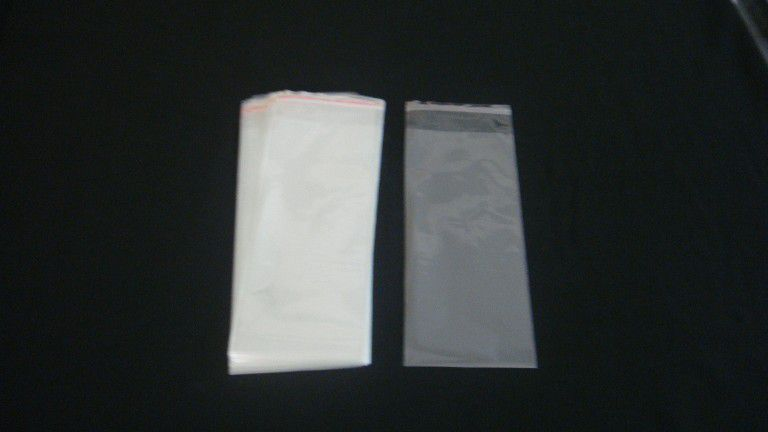 Saquinhos plástico adesivado 10x25 pacote com 100 unidades