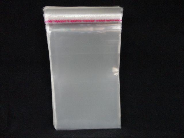 Saquinhos plástico adesivado 12x18 pacote com 100 unidades