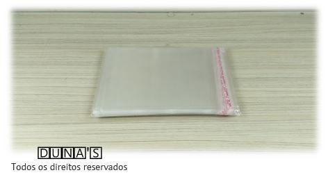 Saquinhos plástico adesivado 13x15 pacote com 1000 unidades