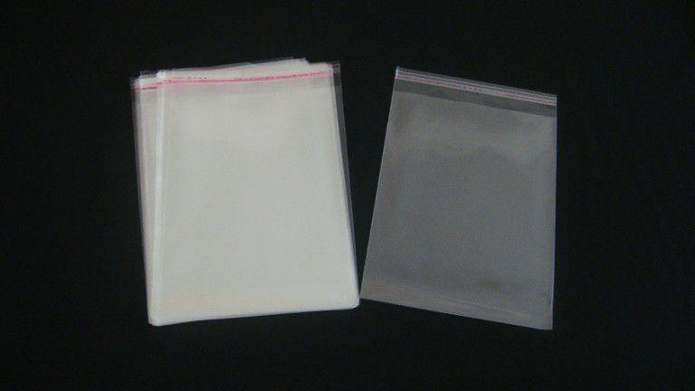 Saquinhos plástico adesivado 15x20 pacote com 100 unidades