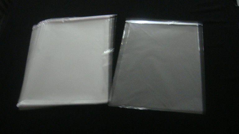 Saquinhos plástico adesivado 30x40 pacote com 100 unidades