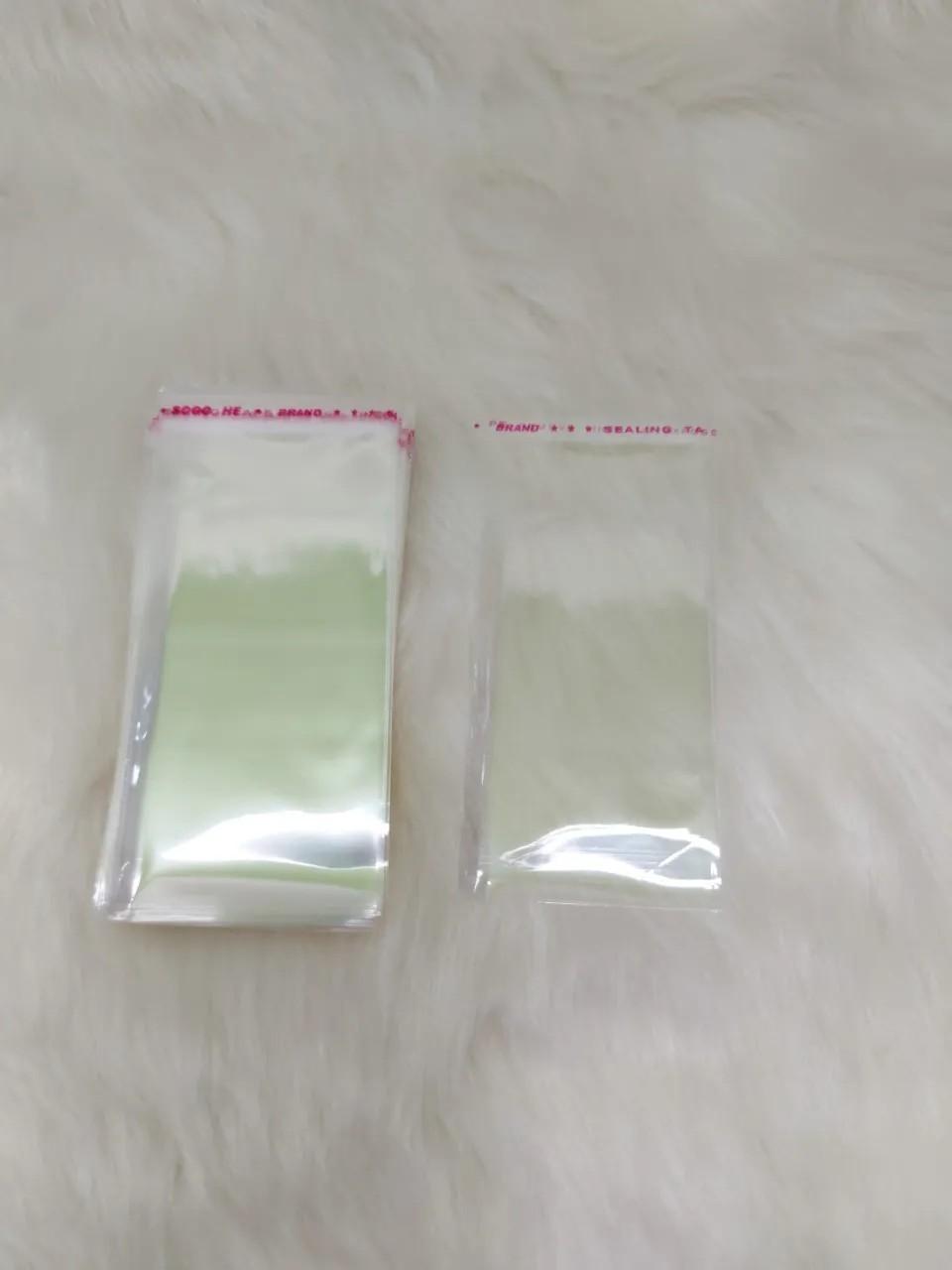 Saquinhos plástico adesivado 5x8 pacote com 1000 unidades