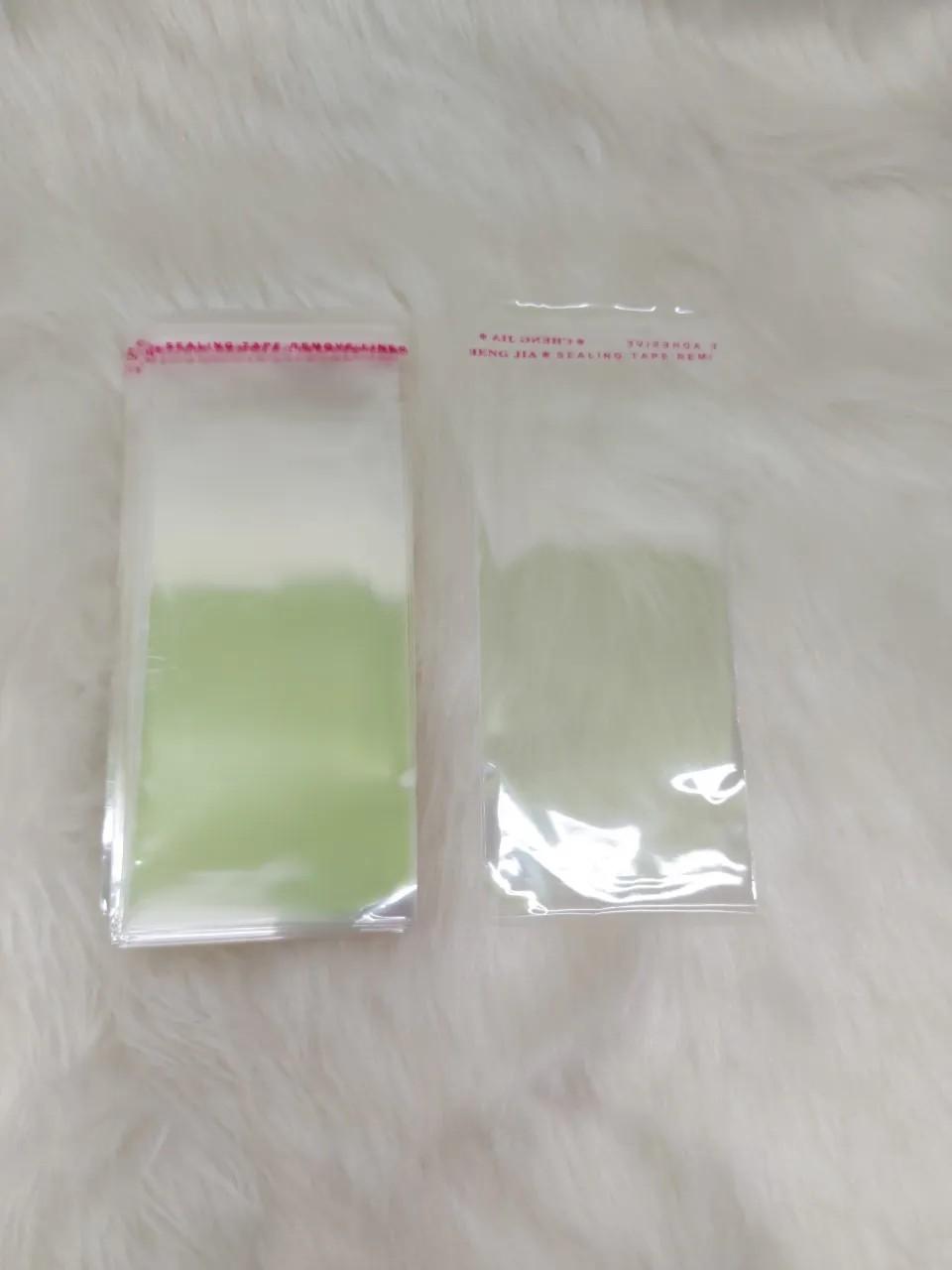 Saquinhos plástico adesivado 6x12 pacote com 1000 unidades