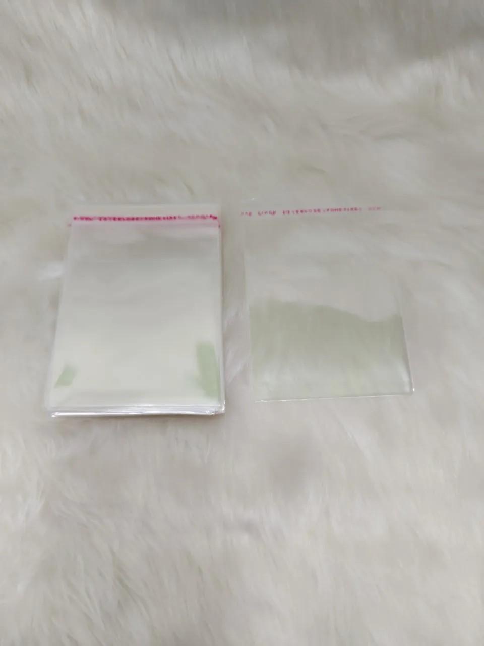 Saquinhos plástico adesivado 8x8 pacote com 1000 unidades