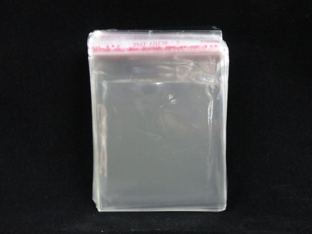 Saquinhos plástico adesivado 8x8 pacote com 100 unidades
