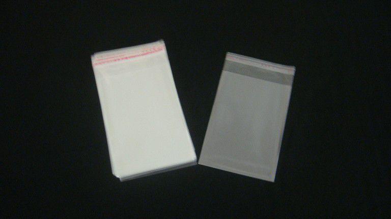 Saquinhos plástico adesivado 9x13 pacote com 100 unidades