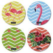 Porta Copos Flamingo