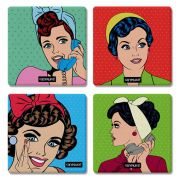 Porta Copos Pin-up