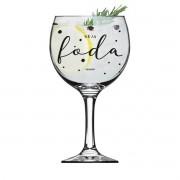 Taça Vidro Gin 600 ml Foda