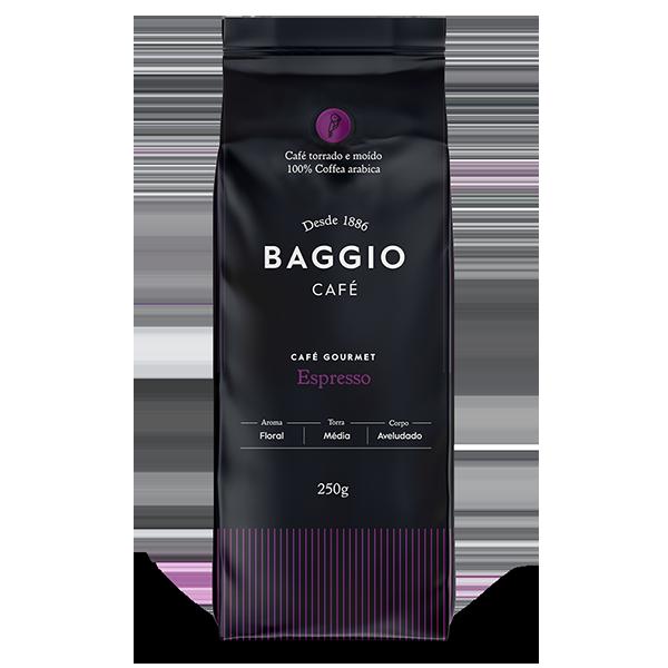 Café Baggio Gourmet Espresso Moído 250 gr