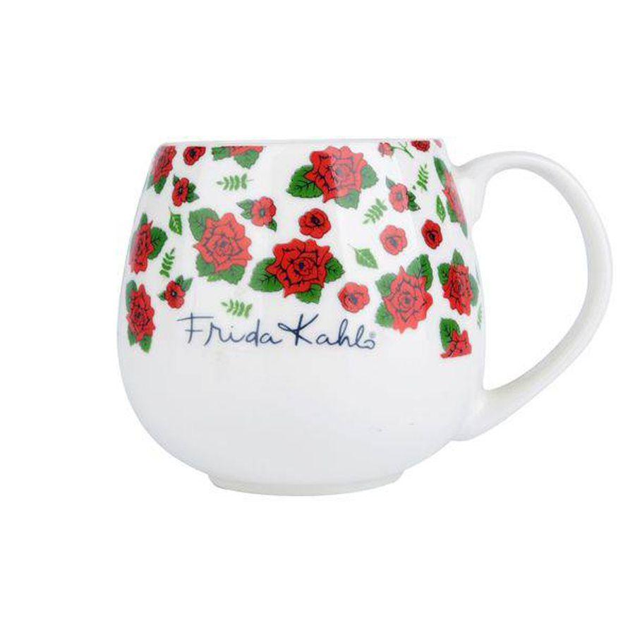 Caneca de Porcelana Frida Kahlo Bulging