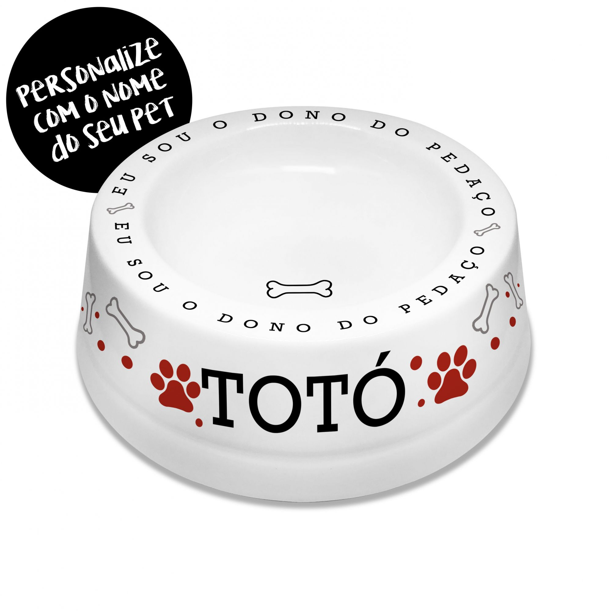Comedouro / Bebedouro Porcenala Cachorro