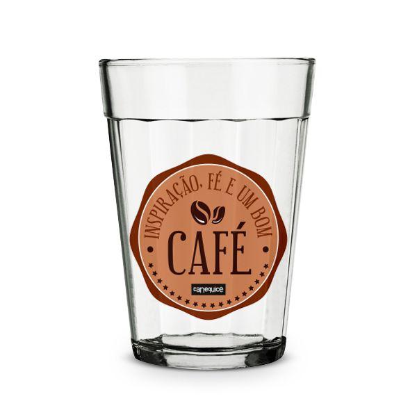 Copo Americano Fé & Café