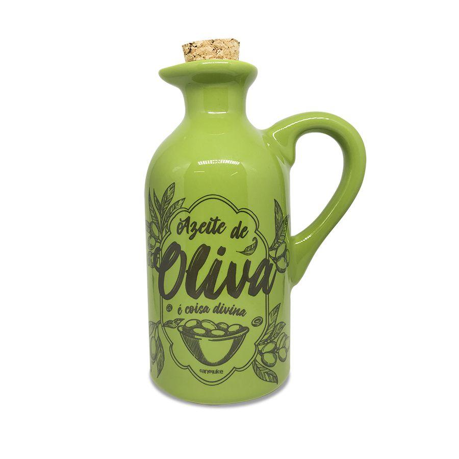 Garrafa Cerâmica Oliva