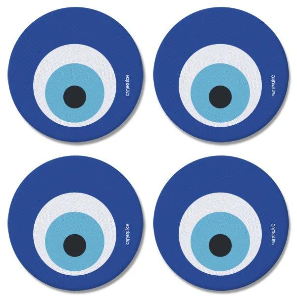 Porta Copos Olho Grego