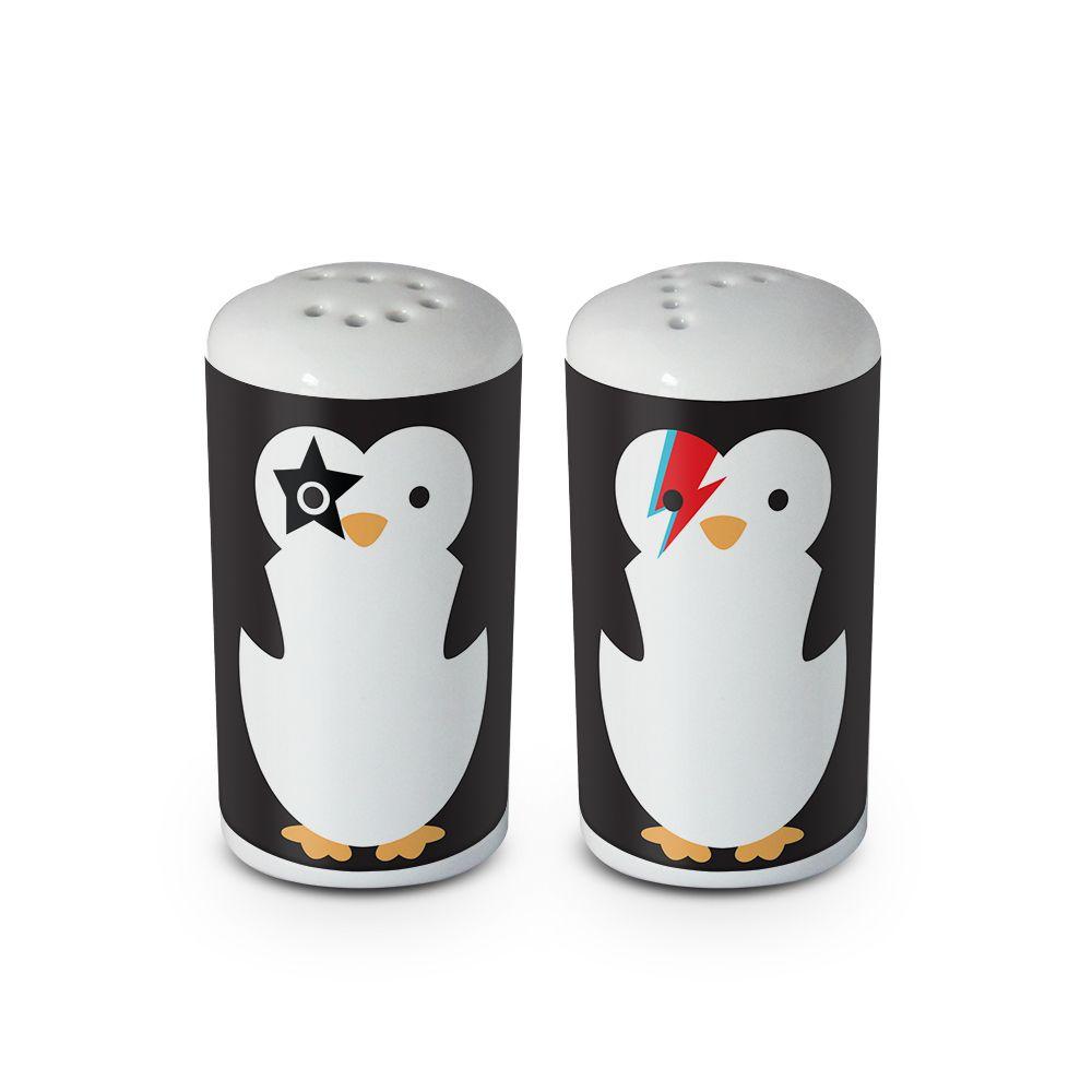 Saleiro e Pimenteiro Pinguins