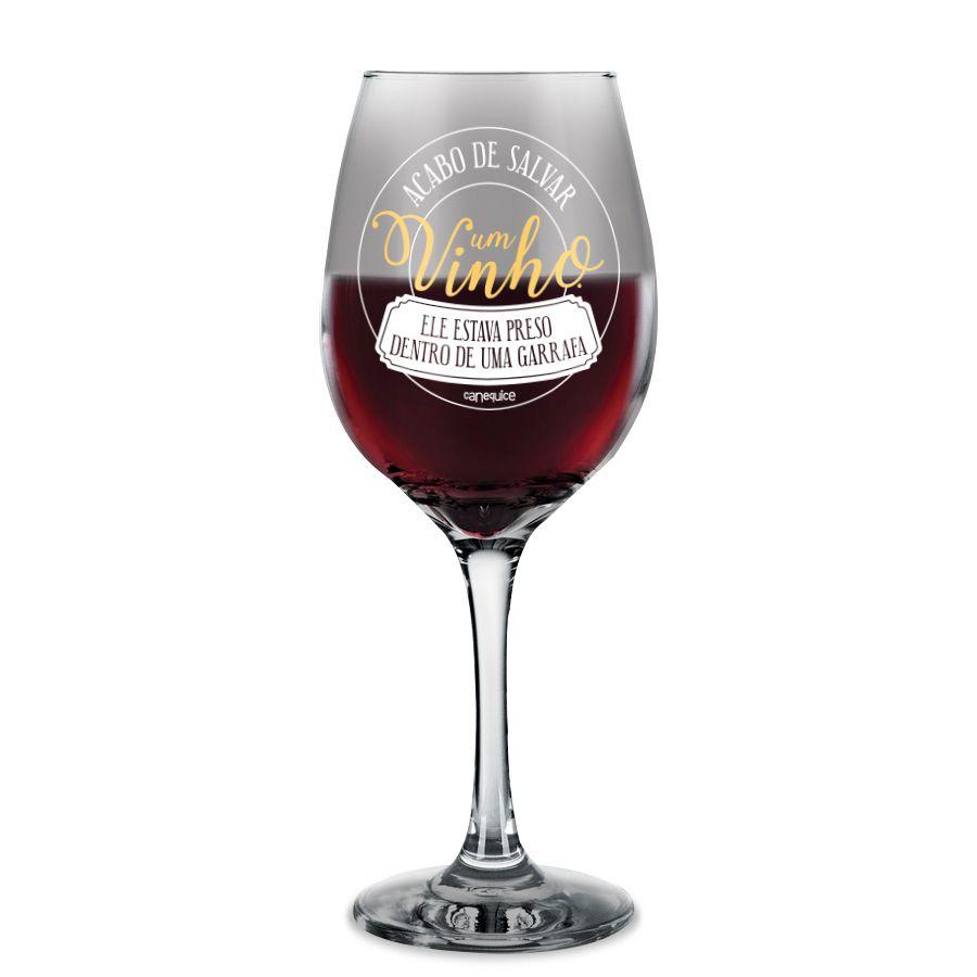 Taça de Vinho Resgate