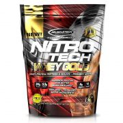 100% Whey Gold Nitro Tech 454g  - Muscletech