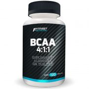 Bcaa 4:1:1 Aminóacido 120 Tabletes Fit Fast Nutrition