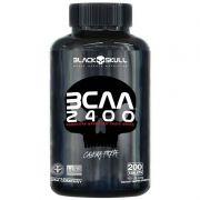 Bcaa Aminoácido Caveira Preta 2400Mg 200 Tabletes Black Skull