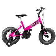 Bicicleta Infantil Aro 16 Big Fat Rosa Ultra Bikes