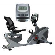 Bike Horizontal Magnetica Oneal Deluxe TP320 - Prata c/ Grafite