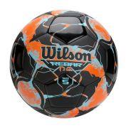 Bola de Futebol Rebar NG Laranja c/ Preto 100% Original Wilson