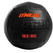 Bola Wall Ball Couro Legitimo 8Kg Treinamento Funcional Crossfit Oneal