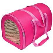 Bolsa de Transporte em Nylon - Rosa - Nº2 - São Pet