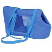 Bolsa de Transporte Marie em Nylon  - Azul - Nº2 - São Pet