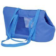 Bolsa de Transporte Marie em Nylon  - Azul - Nº3 - São Pet