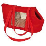 Bolsa de Transporte Marie em Nylon  - Vermelha - Nº1 - São Pet