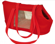 Bolsa de Transporte Marie em Nylon  - Vermelha - Nº2 - São Pet