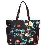 Bolsa Shopping Bag Floral Esportiva Canvas Estampada Mormaii