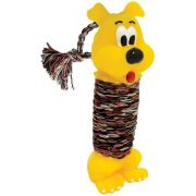 Brinquedo para Cães Cachorro Halteres Vinil com Corda - Grande - São Pet
