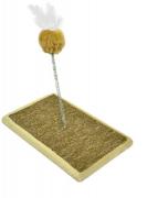 Brinquedo Carpete para Gato - Bege