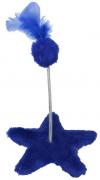 Brinquedo Estrela para Gato - Azul - São Pet