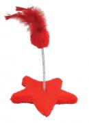 Brinquedo Estrela para Gato - Vermelho - São Pet