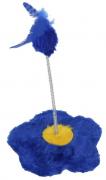 Brinquedo Flor para Gato - Azul - São Pet