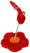 Brinquedo Flor para Gato - Vermelho - São Pet