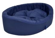 Cama Europa com Sarja para Cachorros - Azul - Nº6 - São Pet