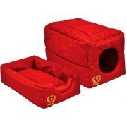 Cama Túnel em Nylon - Vermelho - GG - São Pet