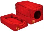 Cama Túnel em Nylon - Vermelho - P - São Pet