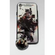 Capinha p/ Celular Iphone XR com POP GAME Metal Gear Solid - Plástico Resistente