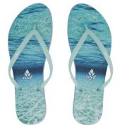 Chinelo Escape Nature Blue Reef
