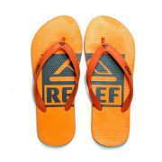 Chinelo Switchfoot Logo Acerola Ultra Confortavel Reef