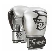 Luva Boxe Muay Elite Training Prata/Preto Pretorian