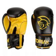 Luva Boxe Muay Thai Treino Competição First Preta - Pretorian
